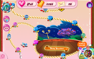 Candy Countdown Map Mobile