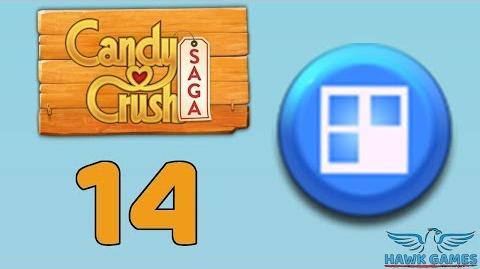 Candy Crush Saga 🎪 Level 14 (Jelly level) - 3 Stars Walkthrough, No Boosters