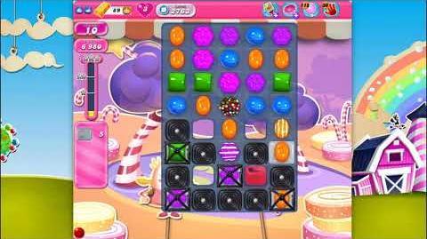 Candy Crush Saga - Level 2763 - No boosters ☆☆☆