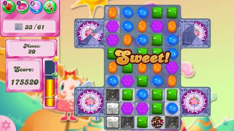 Candy Crush Saga Level 2501