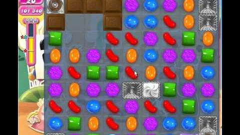 Candy Crush Saga level 692 3 stars