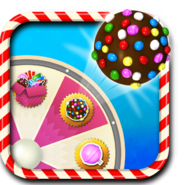 Colour bomb booster wheel icon