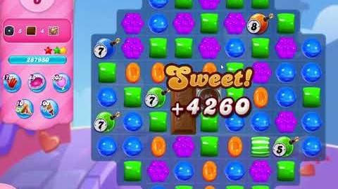 Candy Crush Saga Level 3097 NO BOOSTERS (18 moves)