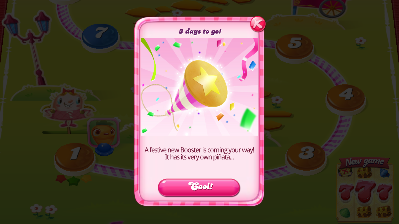 Candy Crush Saga Booster