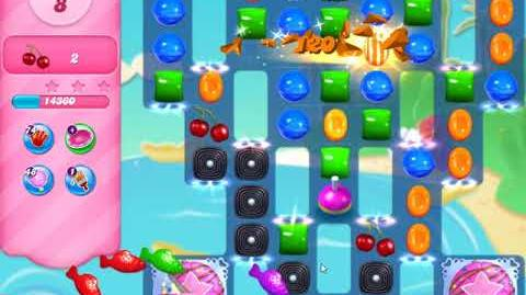 Candy Crush Saga Level 2677 New 16 Moves