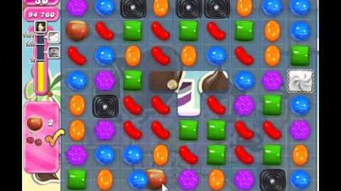 Candy Crush Saga Level 124 - 3 Star - no boosters