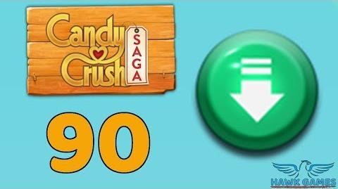 Candy Crush Saga 🎪 Level 90 (Ingredients level) - 3 Stars Walkthrough, No Boosters