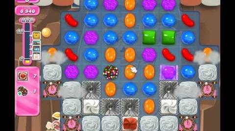 Candy Crush Saga Level 1864 ( New with 22 Moves ) No Boosters 1 Star