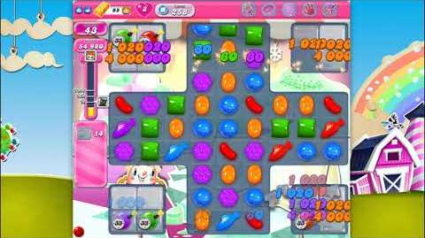 Candy Crush Saga - Level 258 - No boosters ☆☆☆