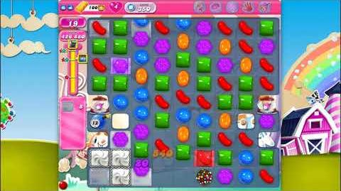 Candy Crush Saga - Level 350 - No boosters ☆☆☆ Top Score