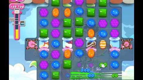 Candy Crush Saga Level 1813 ( New with 200,000 Points ) No Boosters 3 Stars