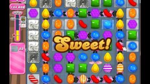 Candy Crush Saga Level 1853 ( New with 23 Moves ) No Boosters 1 Star