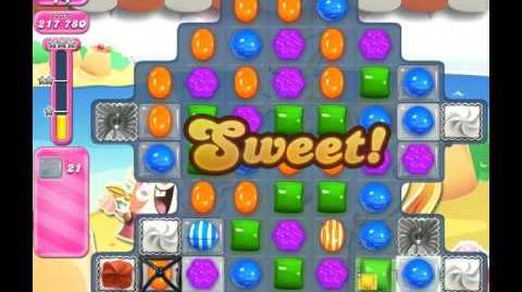 Candy Crush Saga Level 1967 ( New with 28 Moves and 4 Candy Colours ) No Boosters 2 Stars