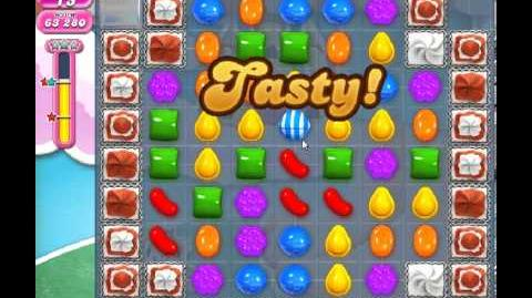 Candy Crush Saga Level 280 - 2 Star - no boosters