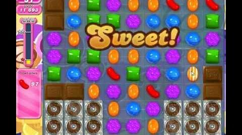 Candy Crush Saga Level 299 - 1 Star - no boosters