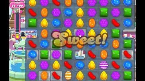 Candy crush saga level 10 No booster, 3 Stars