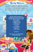 Candy Column List