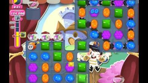 Candy Crush Saga Level 1910 ( New with Sugar Keys Dispensers ) No Boosters 1 Star