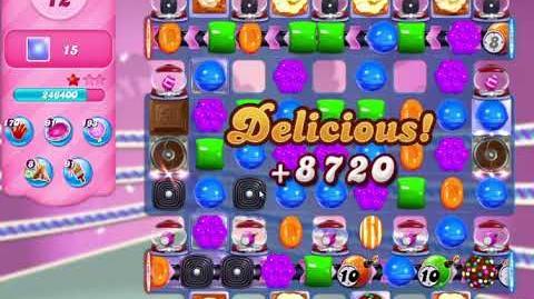 Candy Crush Saga Level 3152 ONE LOLLIPOP HAMMER (22 moves)