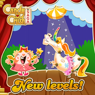 New levels released 157