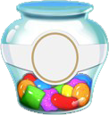 Sugar drop jar