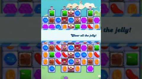 Candy Crush Level 3295 (2nd version, 15 moves)