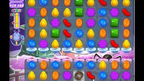 Candy Crush Saga Dreamworld Level 380 (have bug)