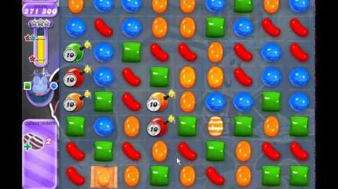 Candy Crush Saga Dreamworld Level 384 (3 star, No boosters)