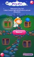 Fairy Fair Blue Candy Lantern