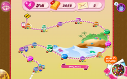 Milky Marina Map Mobile