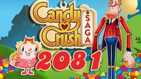 Candy Crush Saga Level 2081