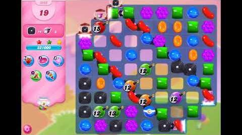 Candy Crush Saga - Level 3366 ☆☆☆
