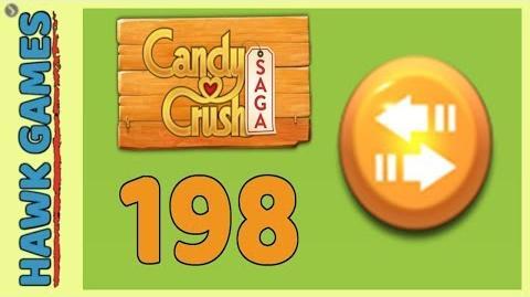 Candy Crush Saga Level 198 (Moves level) - 3 Stars Walkthrough, No Boosters