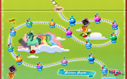 Rainbow Rapids Map