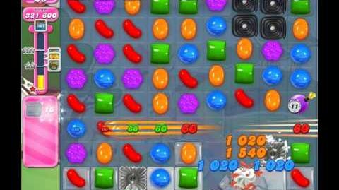 Candy Crush Saga Level 1145 ( New with 12 Moves Candy Bombs ) No Boosters 1 Star