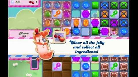 Candy Crush Saga Level 2824 NEW FORMAT no boosters