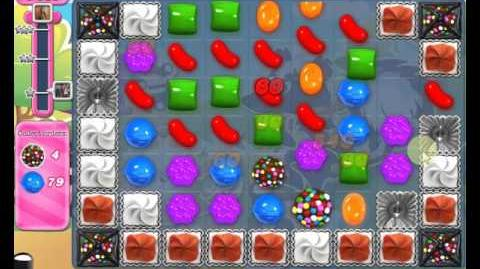 Candy Crush Saga LEVEL 1369 new version (25 moves)