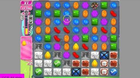 Candy Crush Saga level 972 No Boosters