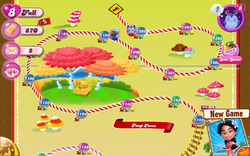 Fungi Forest Reality Map Mobile