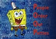 SBSP - People Order Our Patties