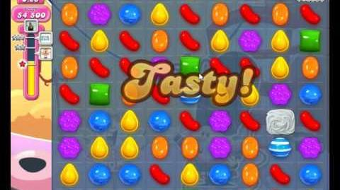 Candy Crush Saga Level 1850 Hard Level NO BOOSTER (3 Stars)
