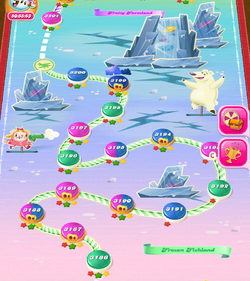 Frozen Fishland HTML5 Map
