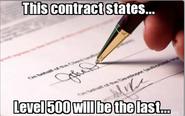 Level 500 contract