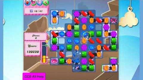 Candy Crush Saga Level 2620 14 moves NO BOOSTERS Cookie
