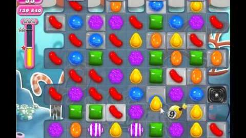 Candy Crush Saga Level 320 - 1 Star - no boosters