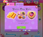 Game Day offer on Facebook