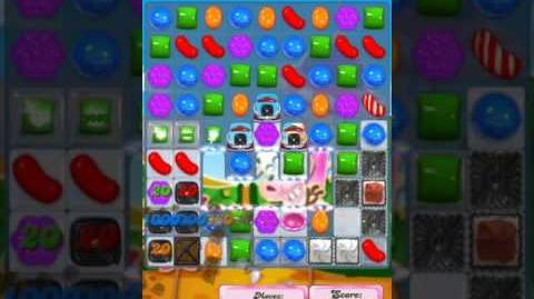 Candy Crush Level 2007 (2nd version, 20 moves)
