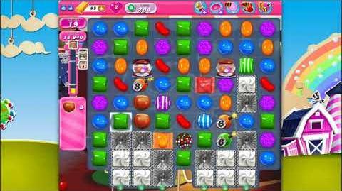 Candy Crush Saga - Level 264 - No boosters ☆☆☆