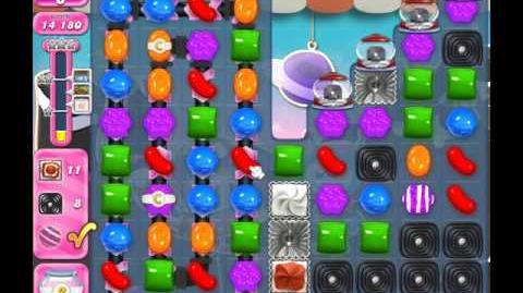 Candy Crush Saga Level 1867 ( New with 24 Moves ) No Boosters 1 Star
