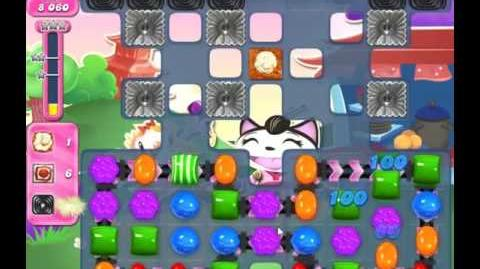 Candy Crush Saga Level 1943 - NO BOOSTERS, 9 MOVES LEFT